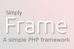 SimplyFrame PHP framework