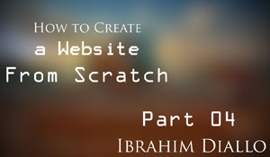 Website from scratch - Part 04 - The Framework