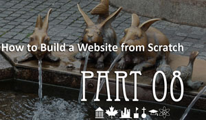 Website from scratch - Part 08 - Data Manager