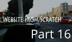 Website From Scratch - Part 16 - Quick Redesign