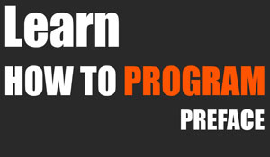 Programming 101 - Preface