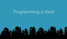 Ah, programming