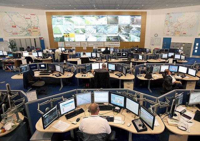 Traffic control room