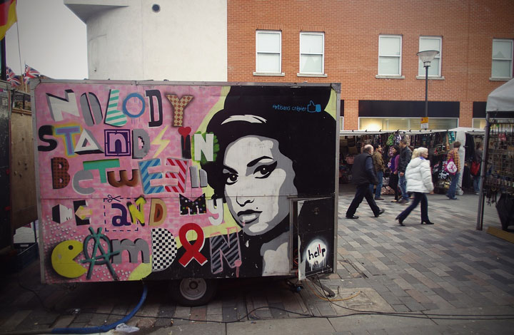 Winehouse in the streets