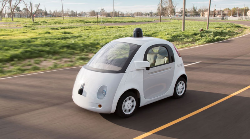 Google Self driving car 2014