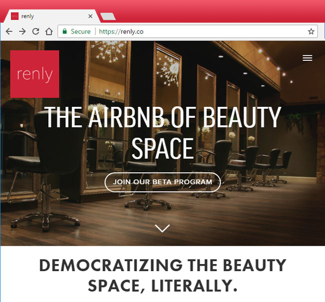 Renly on squarespace