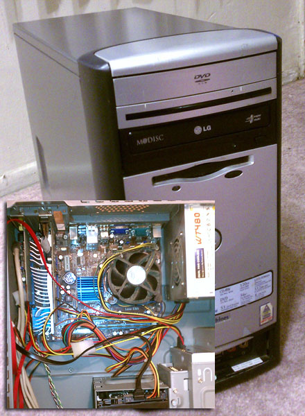 Custom PC built in 2009