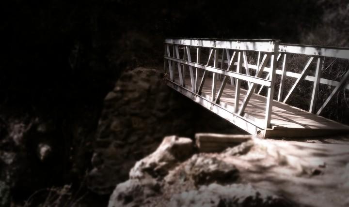 Hike trail at temescal canyon