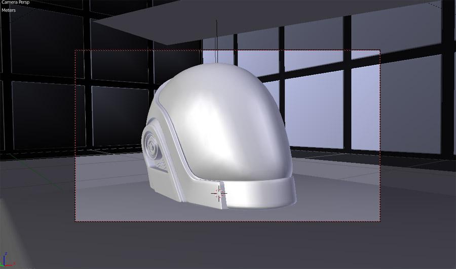 Helmet 3d