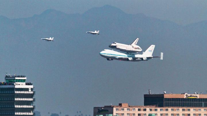 Endeavor final landing