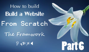 Website from scratch - Part 06 - More Framework