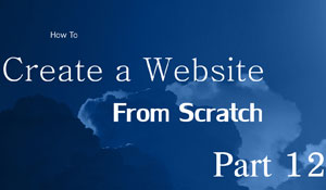 Website from scratch - Part 12 - Admin CSS