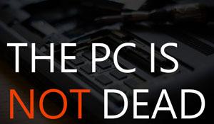 Are PCs Dead?