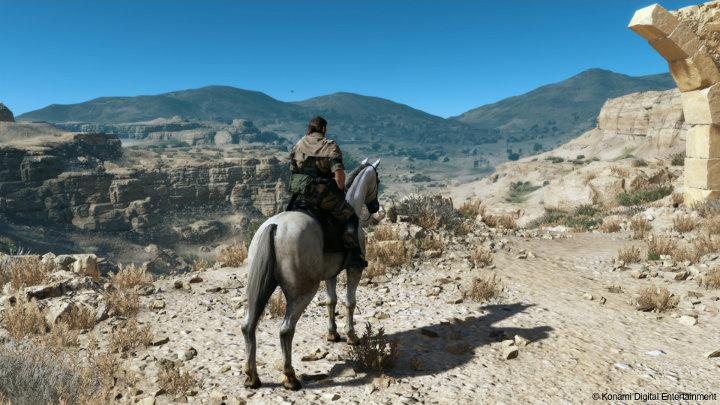 Metal Gear 5 Open world