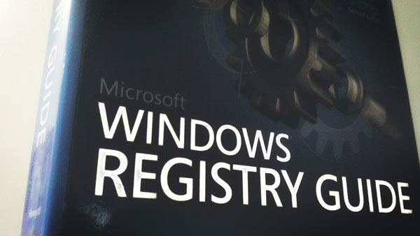 Windows Registry Book