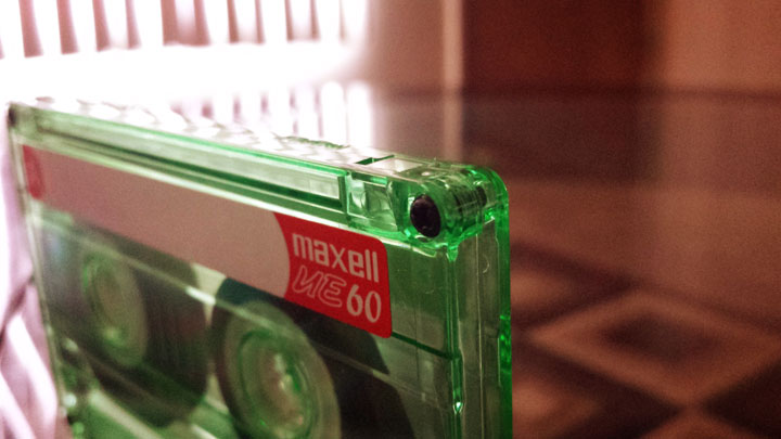 Recordable cassette tape