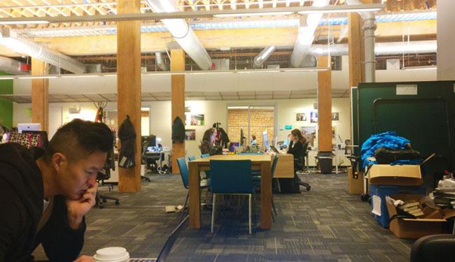 Techcrunch San Francisco office