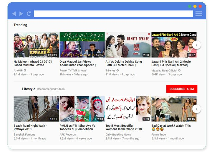 Trending videos in Pakistan