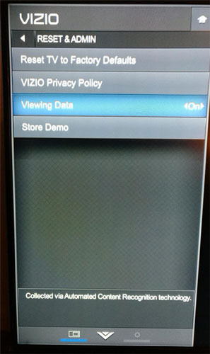 Vizio Automated Content Collection