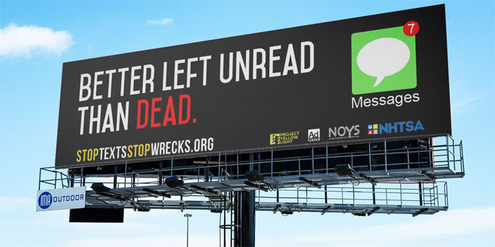 Better left unread billboard