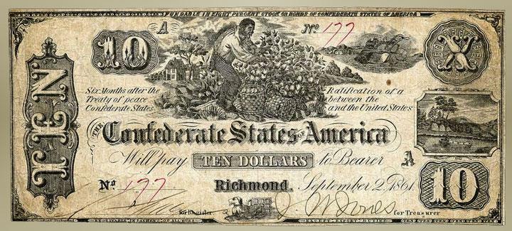1862 10 dollar bill