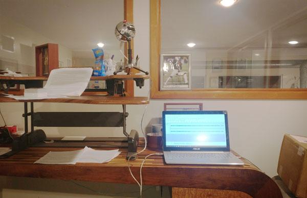 Ibrahim recording studio