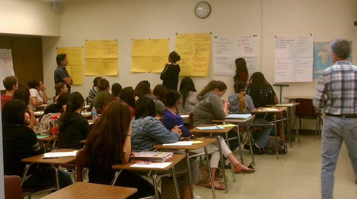 English class at El Camino College