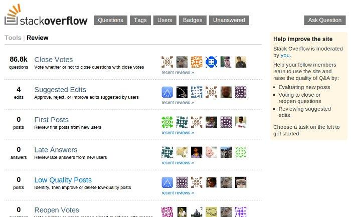 Stackoverflow moderator