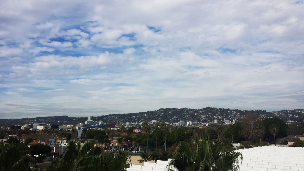 Los Angeles Museum of art view