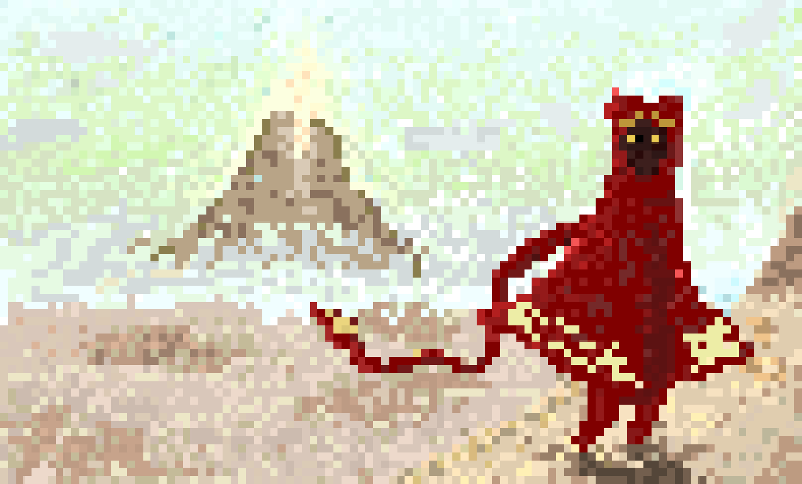 Journey in Pixel art